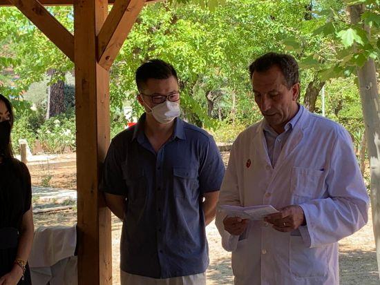 Hospital Instituto Fundación San José院长Ricardo Sanchis Cienfuegos-Jovellanos发言