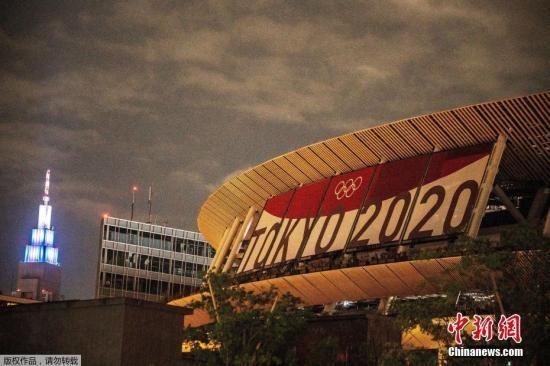 资料图:日本新国家体育场,这里是2020东京奥运会的主会场。