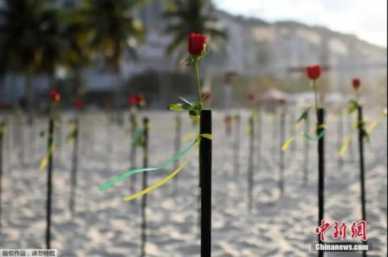 资料图:巴西海滩 (图文无关)