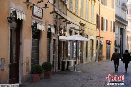 资料图:罗马街景