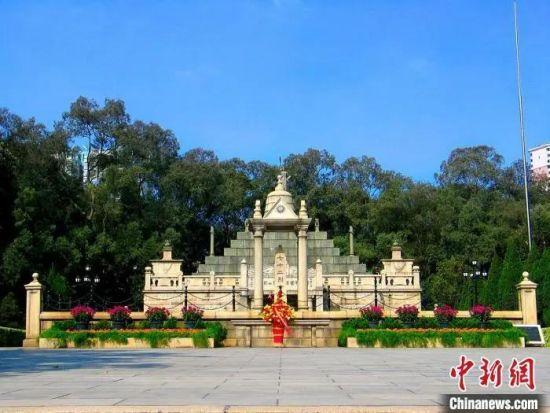 资料图:黄花岗七十二烈士墓。广东省文旅厅 供图